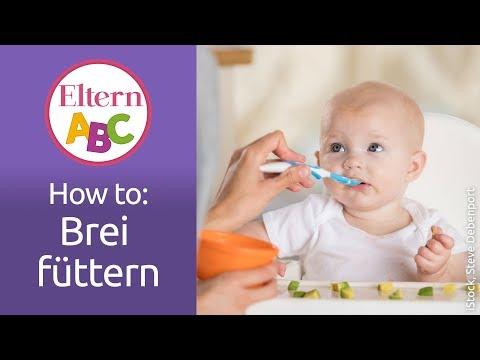 How to: Brei füttern   Baby   Eltern ABC   ELTERN   Elternratgeber