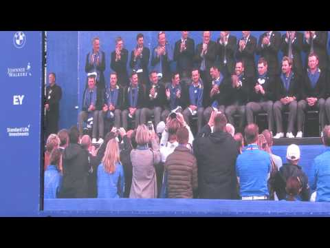 Ryder Cup 2014 Highlights