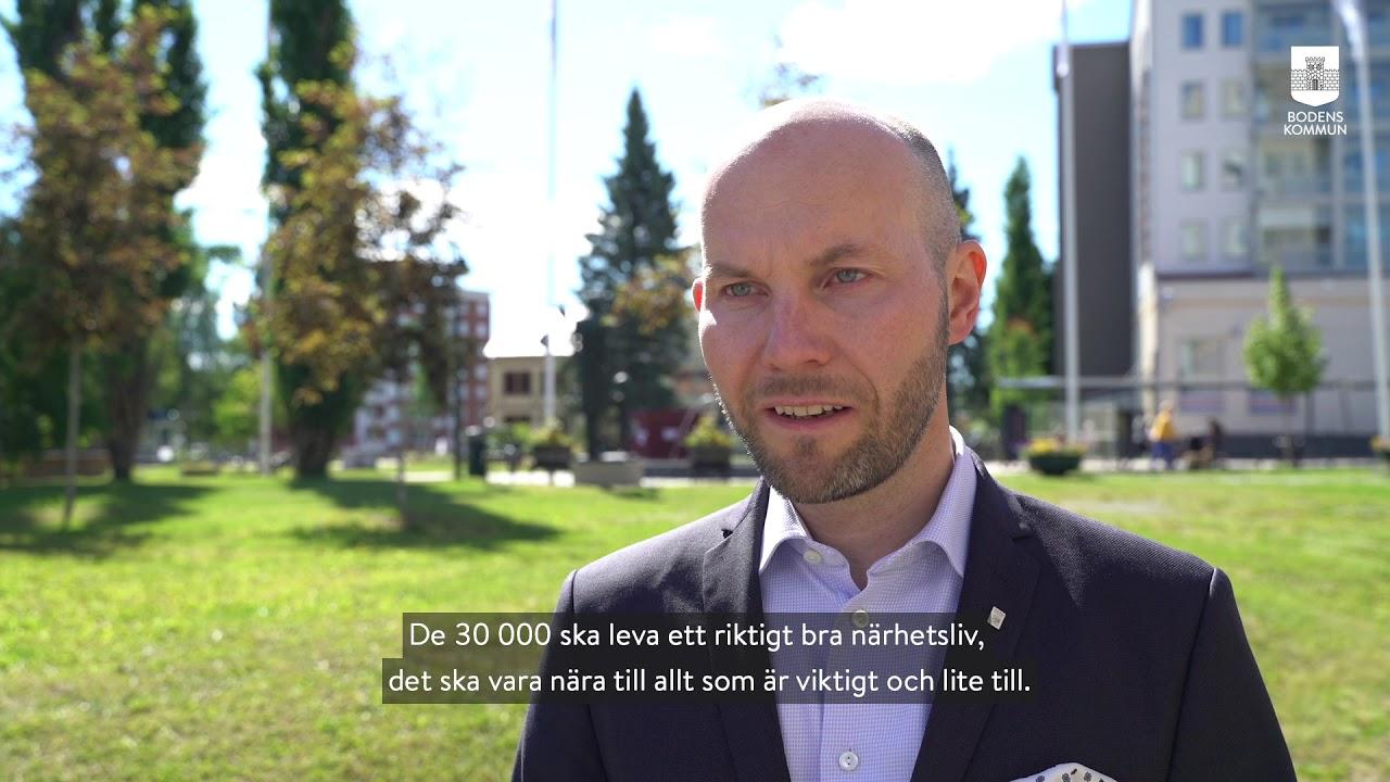 Ny strategisk plan för Bodens kommun