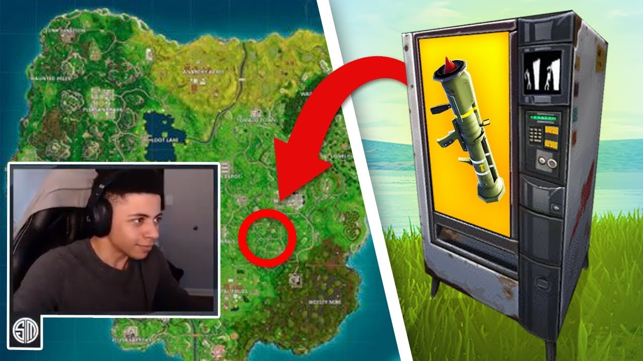 Myth Reacts To New Guided Missile Vending Machine On Fortnite