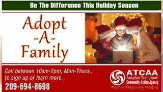 ATCAA's Adopt-A-Family thanks Tuolumne County Donors