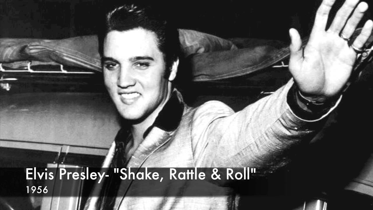 Elvis Presley Shake Rattle And Roll Lyrics