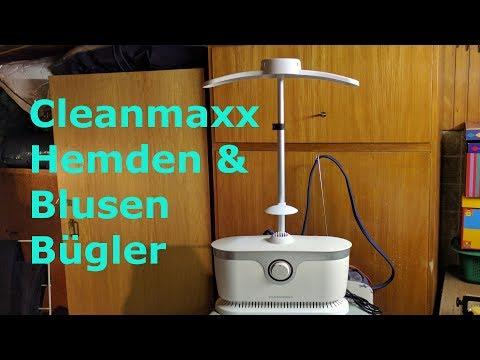 Cleanmaxx automatischer Hemden und Blusen Bügler [Review]