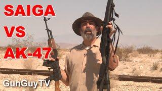 Saiga 762x39 Rifle Vs Wasr AK47