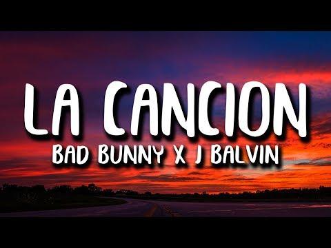 J Balvin Bad Bunny La CanciÓn Audio