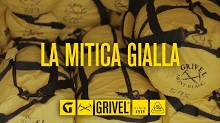 Grivel La Mitica Gialla – The legendary yellow bag