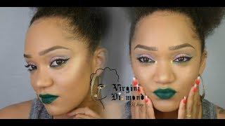 maquillage du soir (vert)