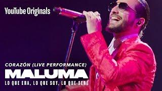Corazón (Live Performance)   MALUMA: Lo Que Era, Lo Que Soy, Lo Que Seré