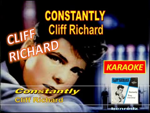Constantly by Cliff Richard - karaoke version