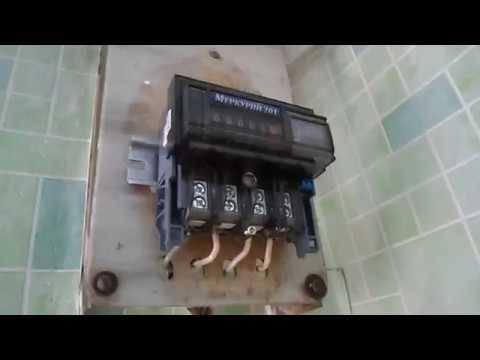 Замена электросчётчика без отключения электричества.