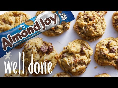 How to Make Almond Joy Cookies   Desserts   Well Done