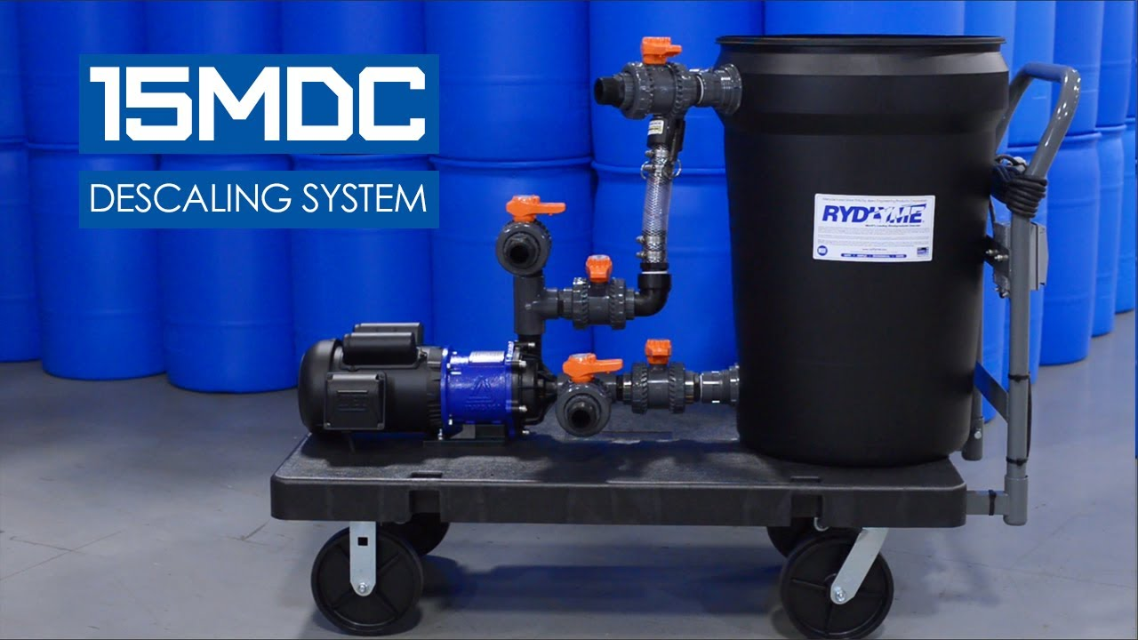 RYDLYME 15MDC Industrial Descaling System