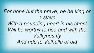Domine - The Ride Of The Valkyries Lyrics