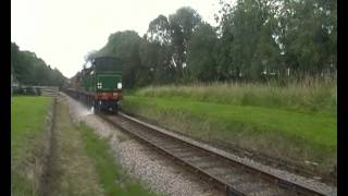 preview picture of video 'SE&CR H class No.263 + C class No.592 assault west Hoathly station site.'