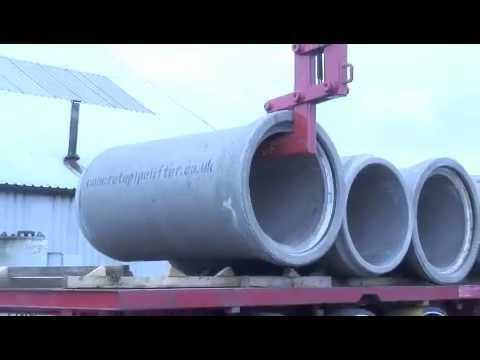 MGF Award winning Concrete Pipe Lifter