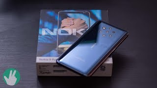 Nokia 9 Pureview Unboxing: Android One, 5 cameras, oh my!
