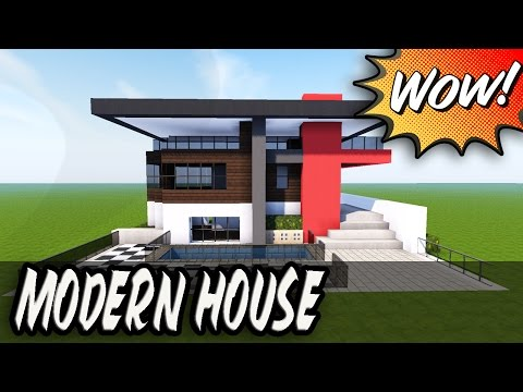 Minecraft How To Build A Small Modern House 11 Mansion House