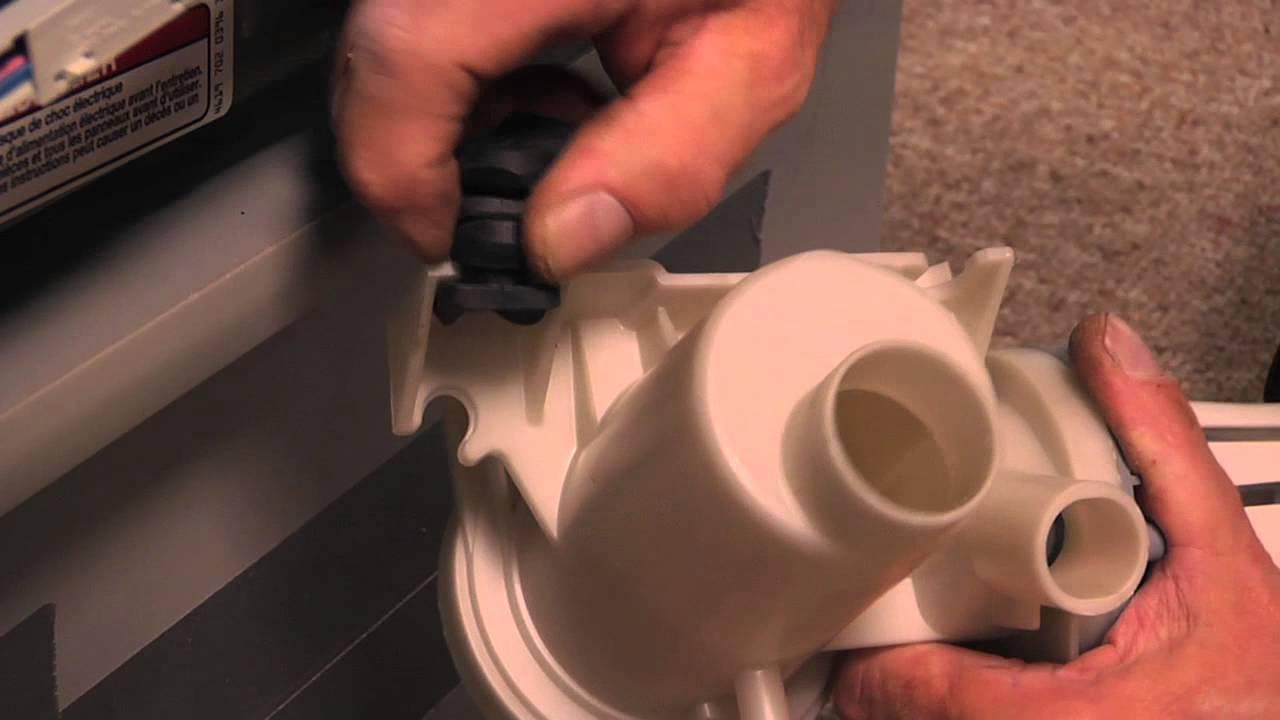 Replacing your Kenmore Washer Drain Pump Kit