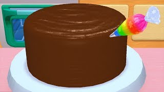 Play Fun Learn Cake Cooking & Colors - My Bakery Empire- Bake Decorate & Serve Cakes Games For Kids