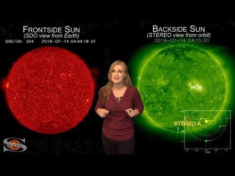 Solar Storm Forecast – February 21, 2019 at 07:50PM