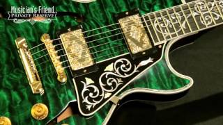Gibson Custom Bella Voce Electric Guitar, Transparent Green