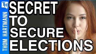 This Secure Election Method Works But Republicans Don't Want Secure Elections!