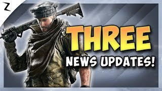 3 News Updates! Phantom Sight! Year 4! - Rainbow Six Siege