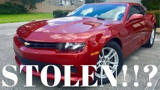 STOLEN 2014 Chevrolet Camaro Bought On Copart Auto Auction