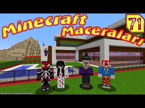 CADI ÖRÜMCEK KÖYÜNDE ( Minecraft Maceraları )