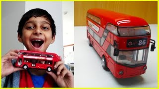 TOY Double Decker London Bus With Light & Music Sound For Kids Pretend Play