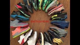 KD Kevin Durant Shoe Collection