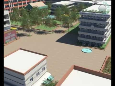 This Demo was created in 2009 for Garden City College, Bangalore, India by Anthelion Technology (P) Ltd. This is one of the finest presentations created by us from Video taken. No architectural files were available yes we developed near accurate structure