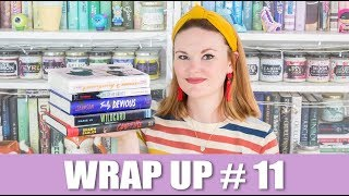Wrap Up #11 - Wildcard, City of Ghosts, Campfire, Truly Devious & Emergency Contact