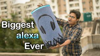 How I Made Biggest Alexa Boombox Ever