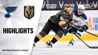 Blues @ Golden Knights 5/7/21 | NHL Highlights