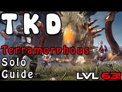 Borderlands 2: Commando Build - Solo Terramorphous The Invincible