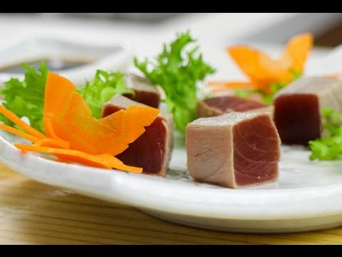 Blanched Tuna Cubes Recipe