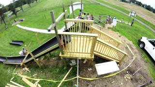 Butler's Orchard Slide Build