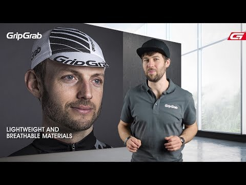 GripGrab Summer Cycling Cap Rød video