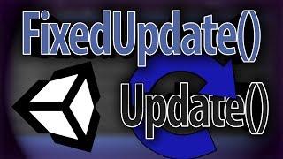 Unity Функции Update и FixedUpdate