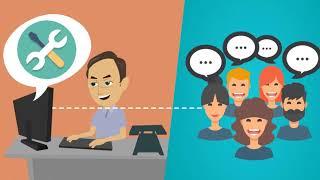 <strong>5. Community Manager</strong><br/><small>Webbkommunikatör</small>