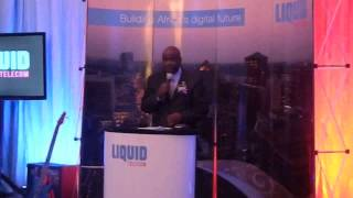 Liquid Telecom MD Makamure  and PS Kundishora