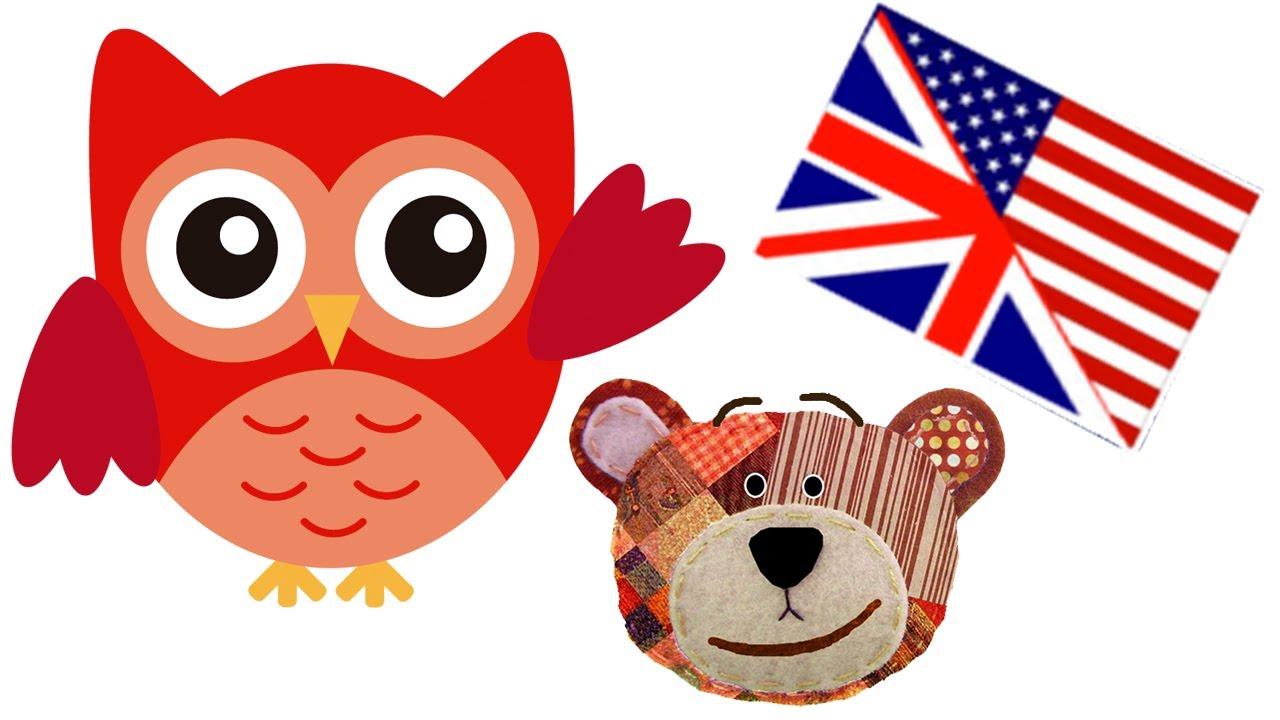 Nombres de animales del bosque en inglés para niños