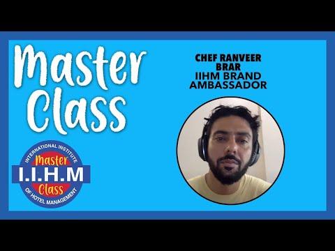 Master Class | Chef Ranveer Brar | Basics of Indian Cuisine
