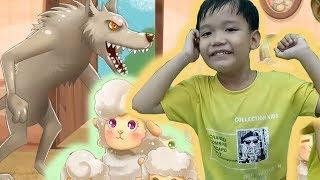 Bé kể chuyện cổ tích CON SÓI VÀ BẢY CHÚ CỪU CON hoạt hình video cho bé yêu