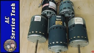 How to Tell the Difference Between Blower Fan Motors: Variable, PSC, Shaded Pole, ECM X-13