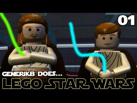 "LEGO STAR WARS The Complete Saga Ep 01 - ""Feat. Liam Neeson as Kim Jong IL!!!"""