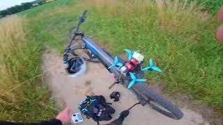 1,3KM FPV Flug - Selbstgebaute 4S GPS Drohne