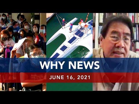 [UNTV]  UNTV: WHY NEWS | June 16, 2021