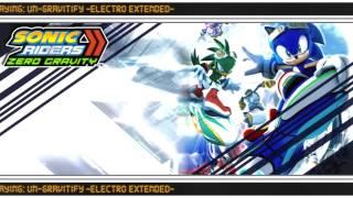 "Sonic Riders: Zero Gravity - ""Un-Gravitify ~Electro Extended~"" [1080p60]"